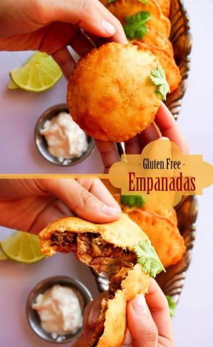 gluten free empanadas pinterest
