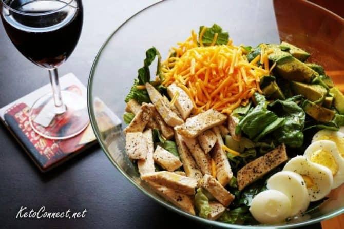 keto salad
