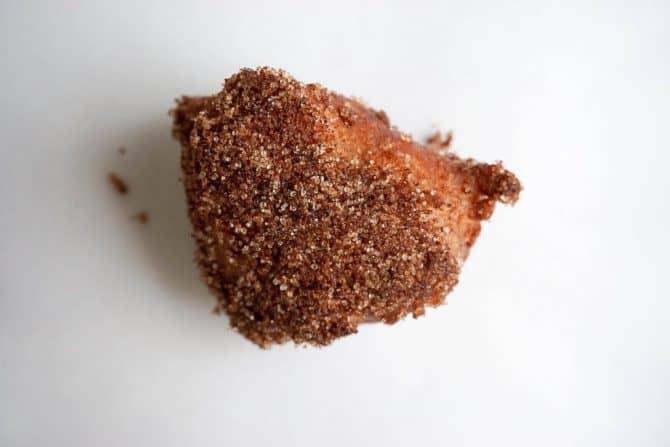 keto donuts cinnamon sugar