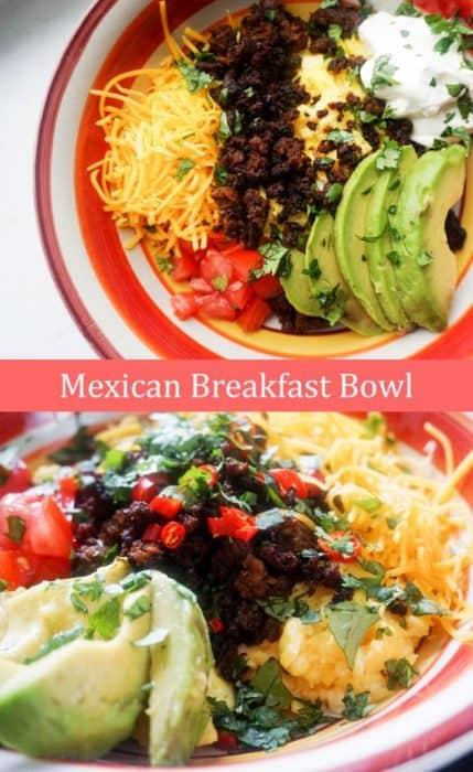 mexican breakfast bowl pinterest