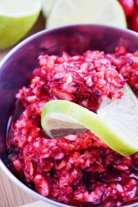 fresh cranberry relish