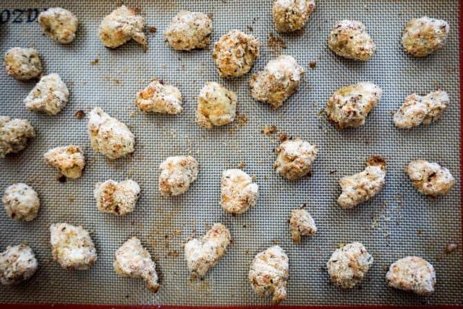 gluten free popcorn chicken baked
