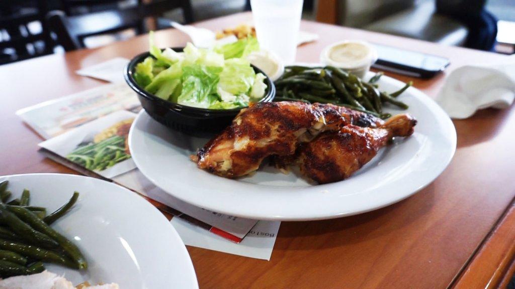 keto boston market chicken
