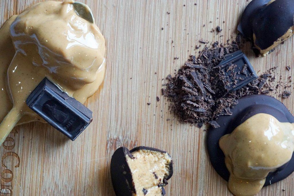 low carb peanut butter balls horizontal